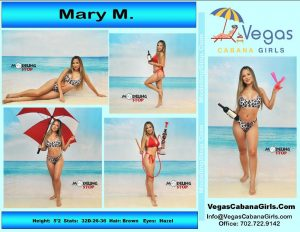 Cabana Girls Las Vegas Daypool Party Mary M