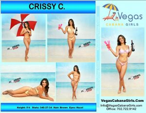 HIRE GIRLS POOL PARTY MODEL CRISSY