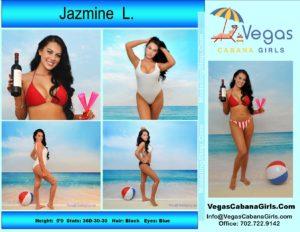 Atmopshere Pool Model Cabana Girl