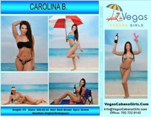 Cabana Girl Atmosphere Model