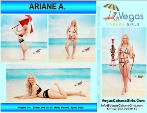 LAS VEGAS POOL PARTY GIRL ARIANE 2